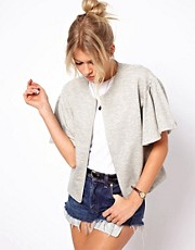 ASOS Jacket with Frill Sleeve