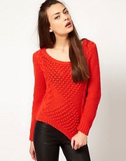 Selected Cable Knit Jumper