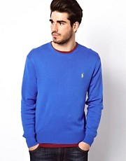 Polo Ralph Lauren  Pullover mit Rundhalsausschnitt und Polospieler-Logo