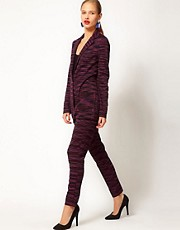 M Missoni High Waisted Knitted Cigarette Trousers