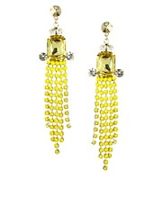 ASOS Multi Jewel Drop Earrings