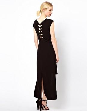 Kore by Sophia Kokosalaki T-Shirt Dress With Knot Back Detail