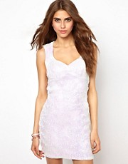 Lashes Of London Sequin Dress with Sweetheart Neckline