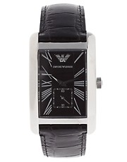 Emporio Armani AR0143 Leather Watch