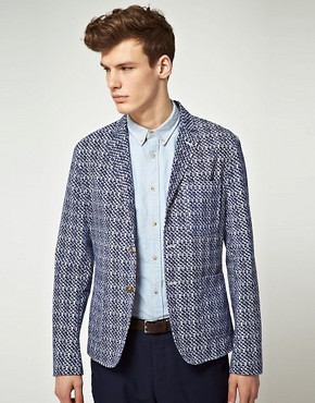 ASOS Slim Fit Palm Blazer