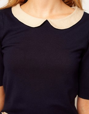 Image 3 ofA Wear Peter Pan Collar Tee