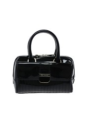 Ted Baker Marquez Patent Mini Bowling Bag