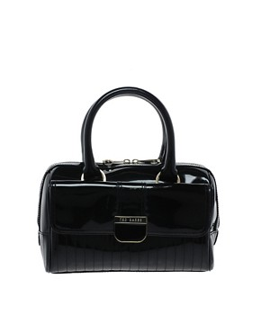 Image 1 of Ted Baker Marquez Patent Mini Bowling Bag
