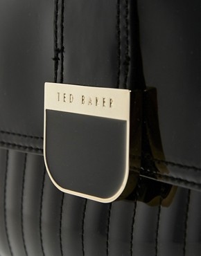 Image 4 of Ted Baker Marquez Patent Mini Bowling Bag