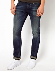G-Star - Defend - Jeans super slim fit scuri e invecchiati