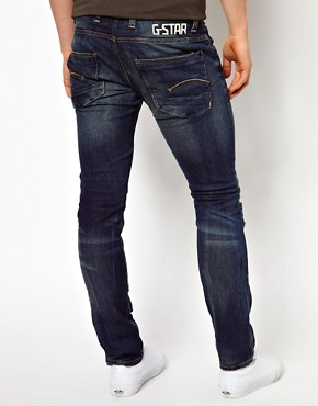 Image 2 ofG-Star Jeans Defend Super Slim Fit Dark Aged