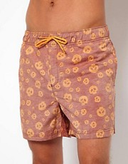 Humor Skull Swim Shorts