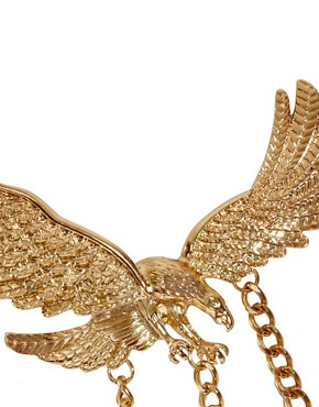 Image 2 ofASOS Statement Eagle Collar Brooches