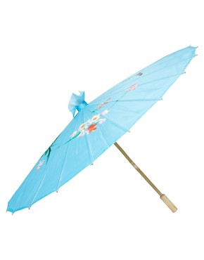 Image 1 ofASOS Oriental Print Parasol