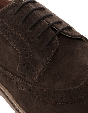Image 2 of ASOS Brogues With Leather Sole