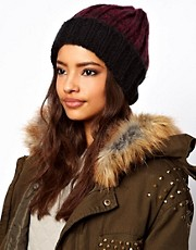 ASOS Chunky Rib Beanie