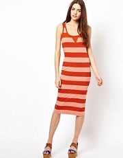 French Connection Toledo Stripe Tank Dress