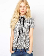 River Island Polka Dot Dolly Shirt