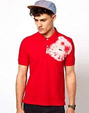 Lacoste Live Polo Shirt with Tie Dye