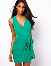 ASOS Sleeveless Wrap Dress