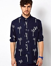 The Critical Slide Society Shirt Long Sleeve Palm Print