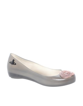 Image 1 ofVivienne Westwood for Melissa Ultragirl X Ballet Flats
