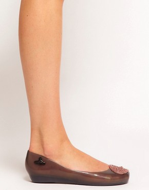 Image 4 ofVivienne Westwood for Melissa Ultragirl X Ballet Flats