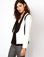 Warehouse Contrast Blazer