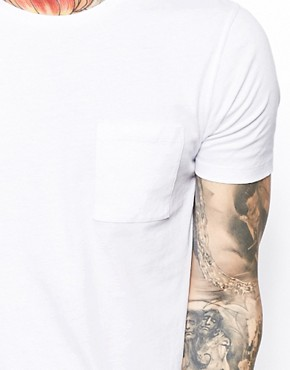 Image 3 ofASOS Crew Neck T-Shirt With Pocket
