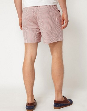 Image 2 ofHentsch Man Shorts Striped Hampton