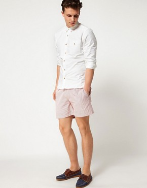 Image 4 ofHentsch Man Shorts Striped Hampton
