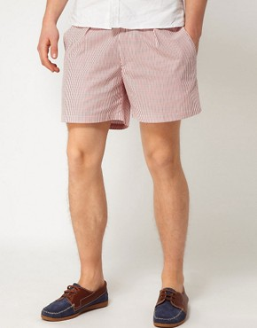 Image 1 ofHentsch Man Shorts Striped Hampton