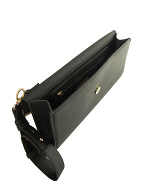 Image 2 ofWarehouse Double Bar Clutch Bag