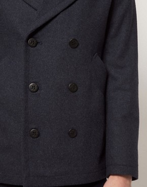 Image 3 ofASOS Peacoat