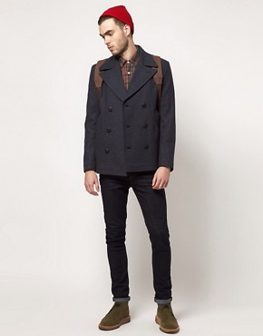 Image 4 ofASOS Peacoat
