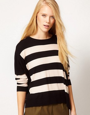 Image 1 ofWhistles Betsey Stripe Sweater