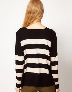 Image 2 ofWhistles Betsey Stripe Sweater