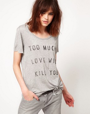 Image 1 ofZoe Karssen Too Much Love T-Shirt