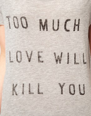 Image 3 ofZoe Karssen Too Much Love T-Shirt