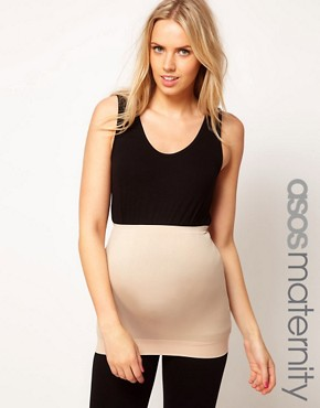Image 1 ofASOS Maternity Exclusive Seamfree Belly Band With Support For The Perfect Bump