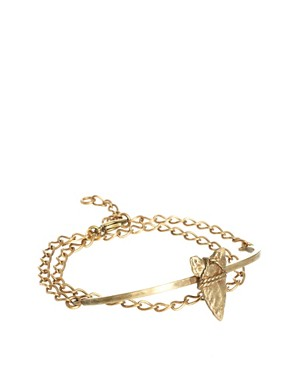 Image 1 ofBing Bang Brave Arrow Wrap Chain Bracelet