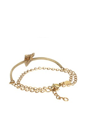 Image 2 ofBing Bang Brave Arrow Wrap Chain Bracelet