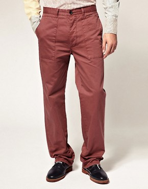 Image 1 ofCarolyn Massey for ASOS Topstitch Trousers