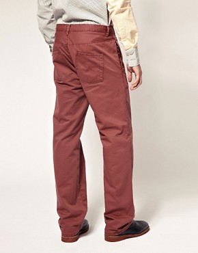 Image 2 ofCarolyn Massey for ASOS Topstitch Trousers