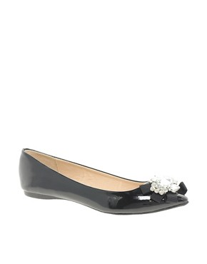 Image 1 ofALDO Cantona Jewel Flat Shoes