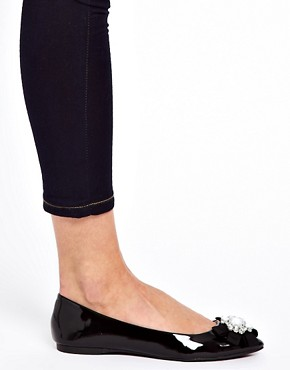 Image 3 ofALDO Cantona Jewel Flat Shoes