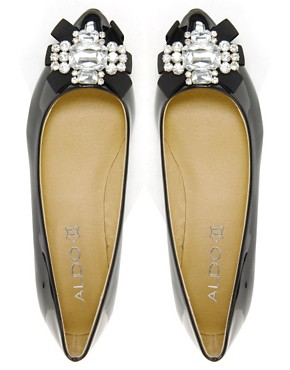 Image 4 ofALDO Cantona Jewel Flat Shoes