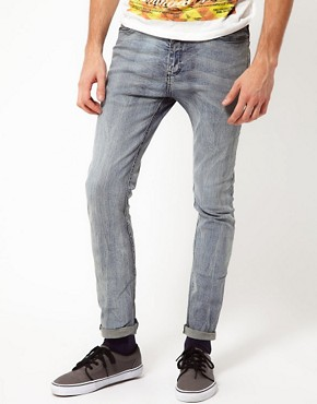 Image 1 ofRiver Island Skinny Vinny Jeans