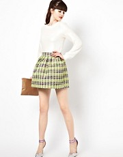 Sister Jane Garden Skirt in Tweed