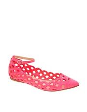 ASOS JUNE Pointed Ballet Flats